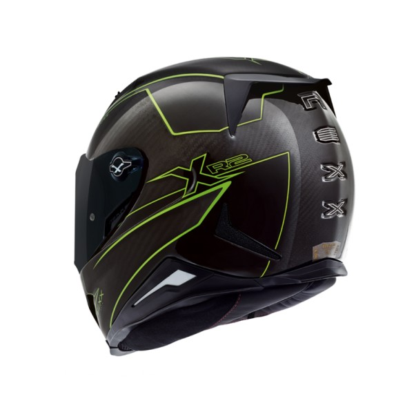 Capacete Nexx XR2 Carbon Pure Neon Amarelo  - Nova Centro Boutique Roupas para Motociclistas