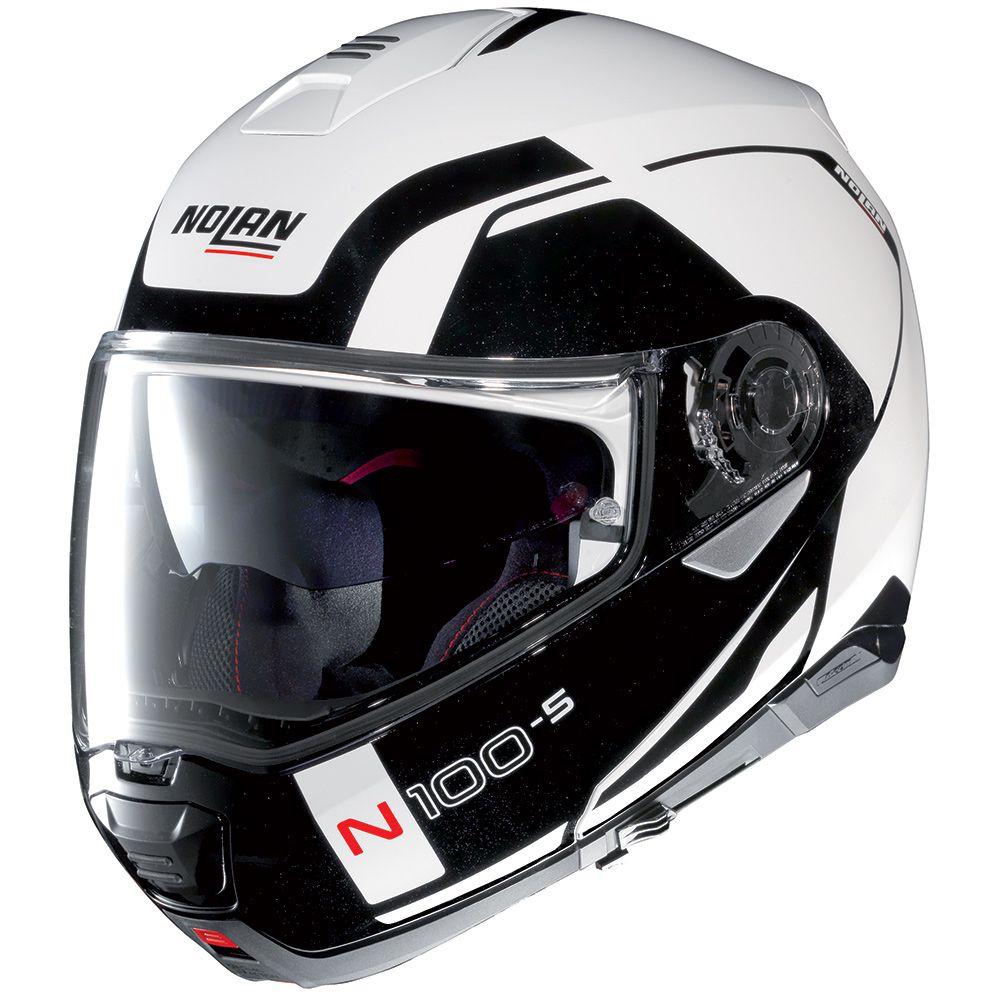 CAPACETE NOLAN N100-5 CONSISTENCY BRANCO (19) - LANÇAMENTO  - Nova Centro Boutique Roupas para Motociclistas