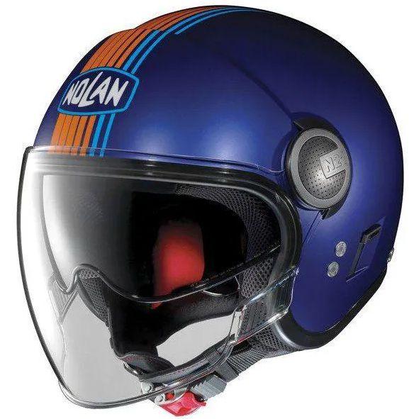 Capacete Nolan N21 Vivre Cayman Azul C/ Viseira Solar Interna (SÓ 60)- SUPEROFERTA!   - Nova Centro Boutique Roupas para Motociclistas