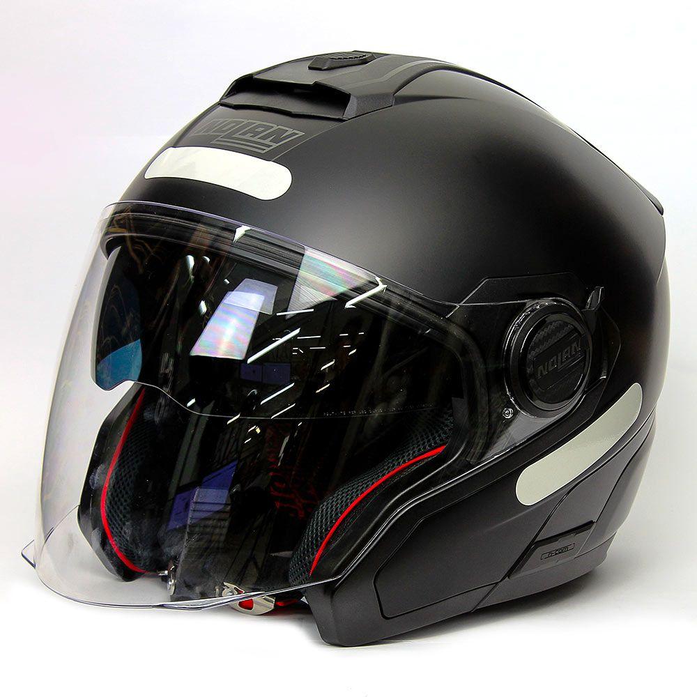 CAPACETE NOLAN N40-5 SPECIAL PRETO FOSCO (13)  - Nova Centro Boutique Roupas para Motociclistas