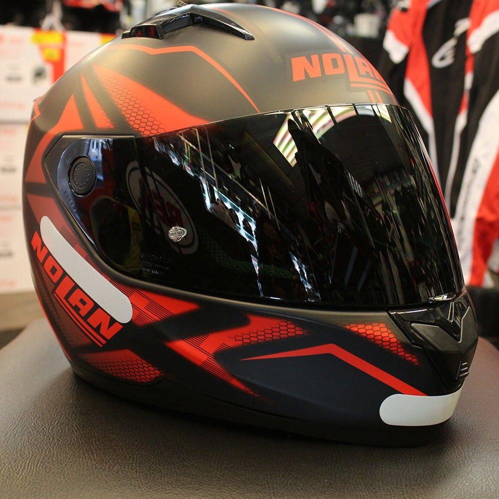 Capacete Nolan N64 Flazy Red/Black (GANHE BALACLAVA)  - Nova Centro Boutique Roupas para Motociclistas