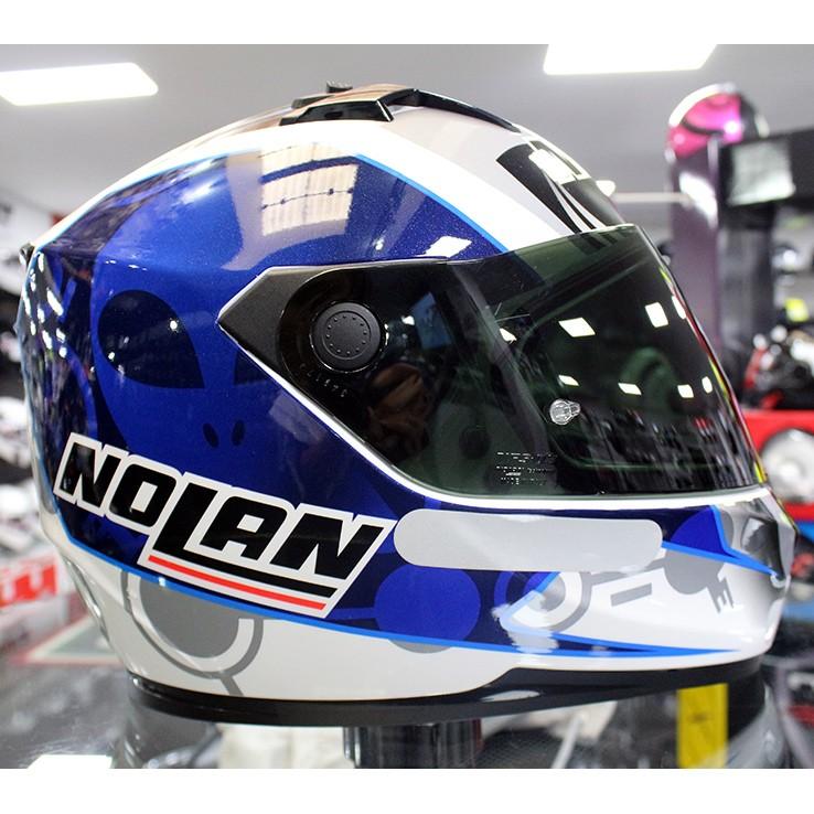 0 Capacete Nolan N64 Gemini Réplica Bastianini (GANHE BALACLAVA)  - Nova Centro Boutique Roupas para Motociclistas