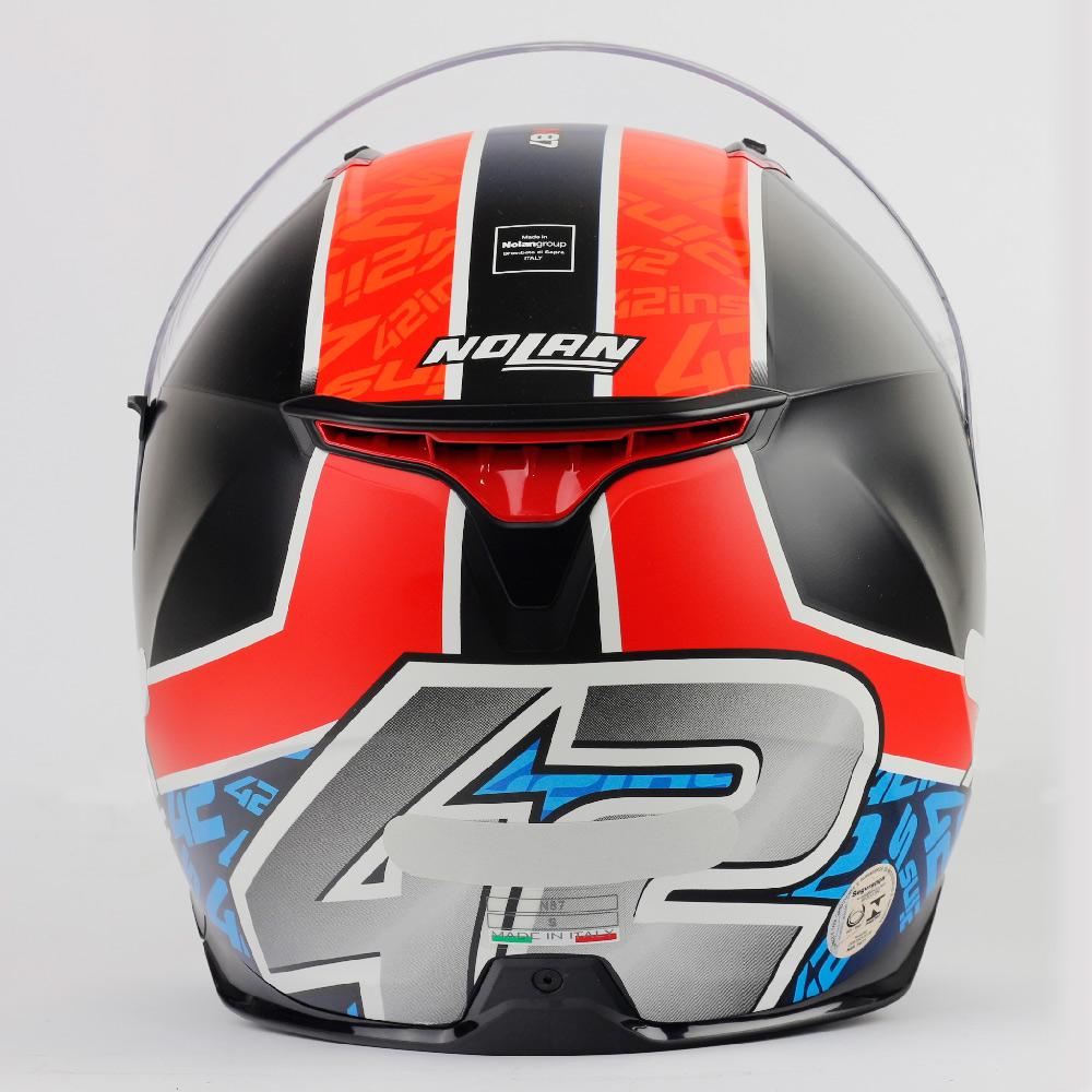 Capacete Nolan N87 Alex Rins Réplica - c/ Viseira Interna e Pinlock  - Nova Centro Boutique Roupas para Motociclistas
