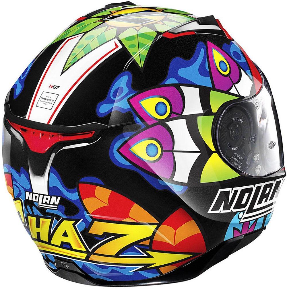 Capacete Nolan N87 Chaz Davies 3 - Réplica Oficial (108) - c/ Viseira Interna e Pinlock  - Nova Centro Boutique Roupas para Motociclistas