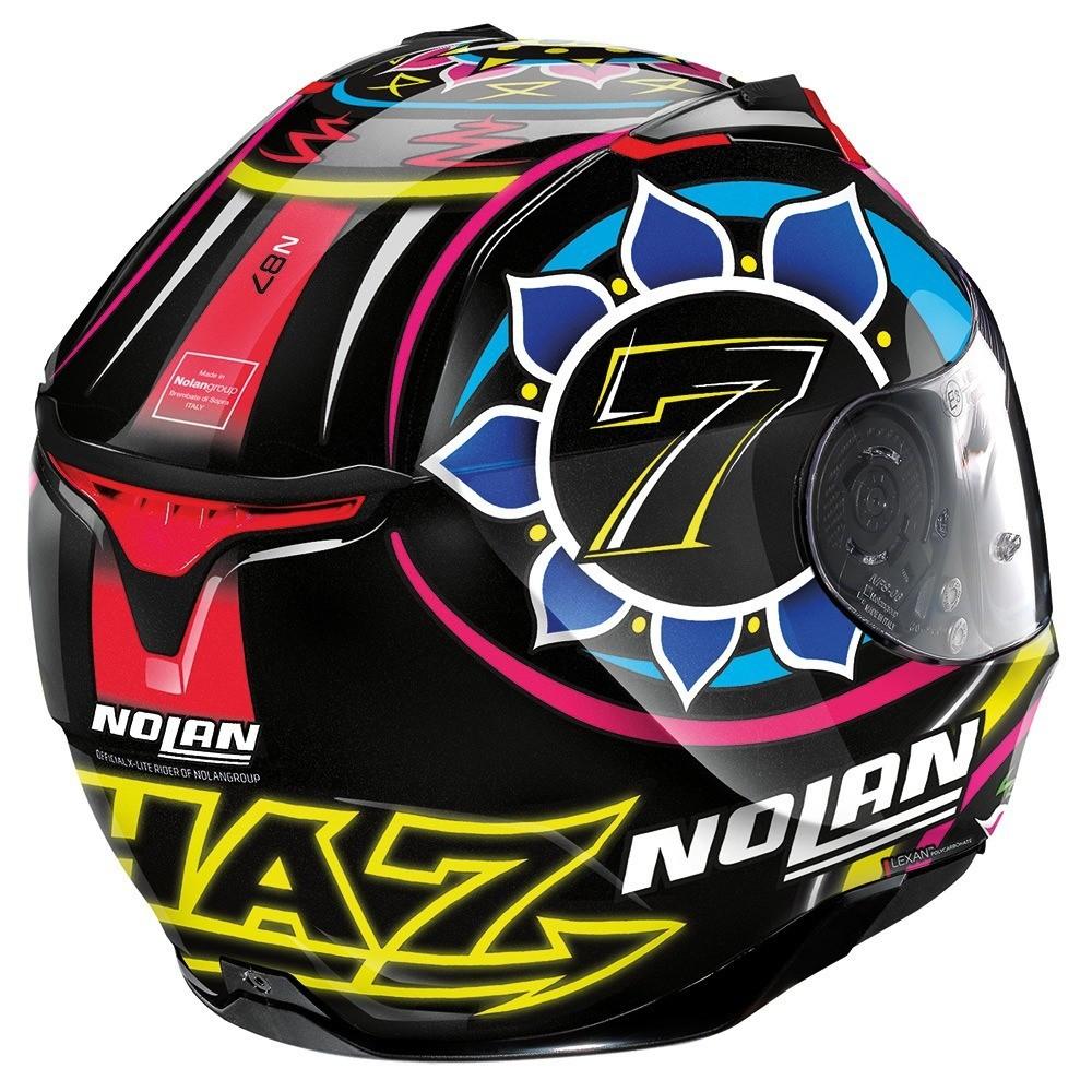 Capacete Nolan N87 Chaz Davies Réplica - c/ Viseira Interna e Pinlock  - Nova Centro Boutique Roupas para Motociclistas