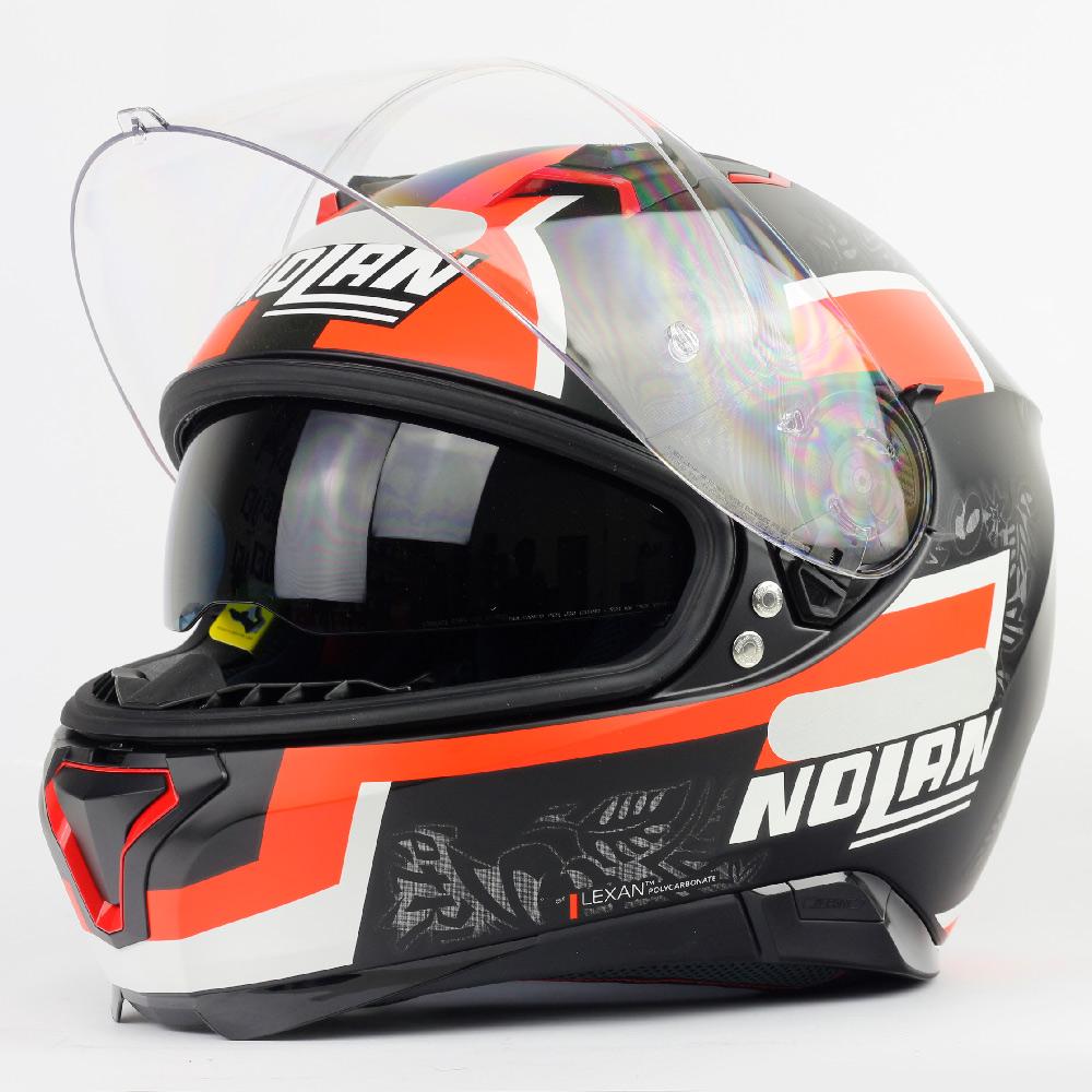 Capacete Nolan N87 Danilo Petrucci Réplica - c/ Viseira Interna e Pinlock  - Nova Centro Boutique Roupas para Motociclistas