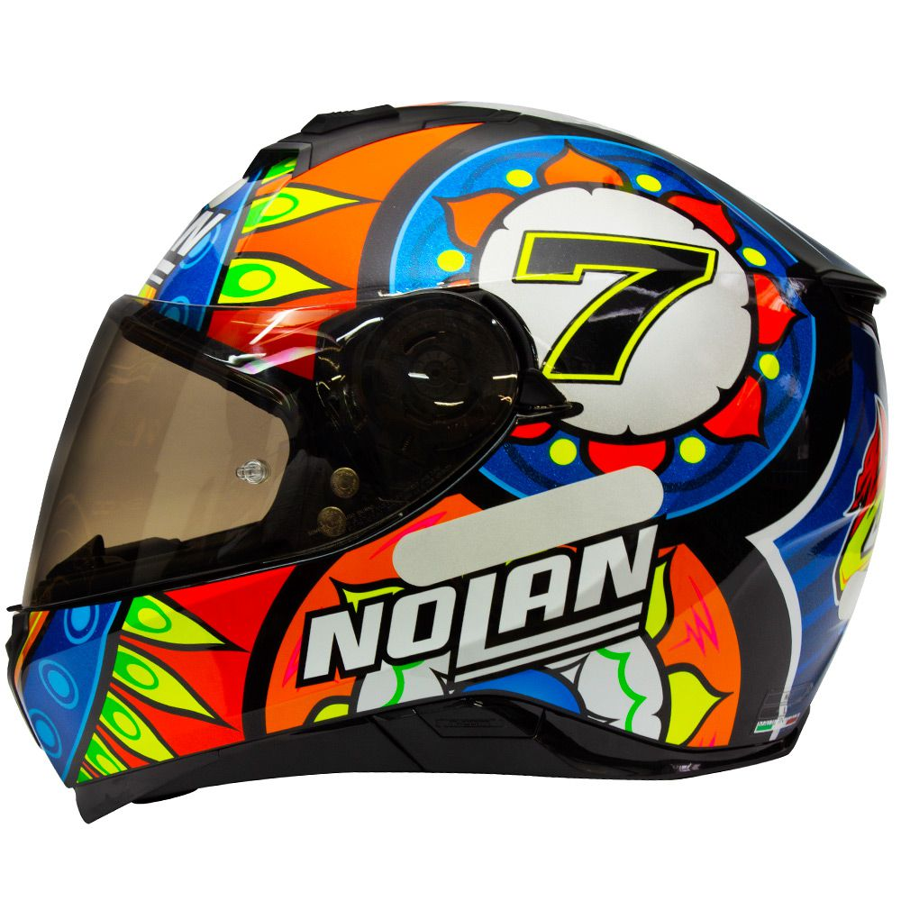 Capacete Nolan N87 Davies Réplica - c/ Viseira Interna  - Nova Centro Boutique Roupas para Motociclistas
