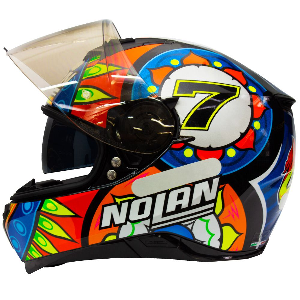 Capacete Nolan N87 Davies Réplica - c/ Viseira Interna
