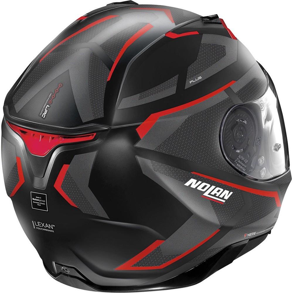 Capacete Nolan N87 Plus Overland N-Com (31) Flat Black  - Nova Centro Boutique Roupas para Motociclistas