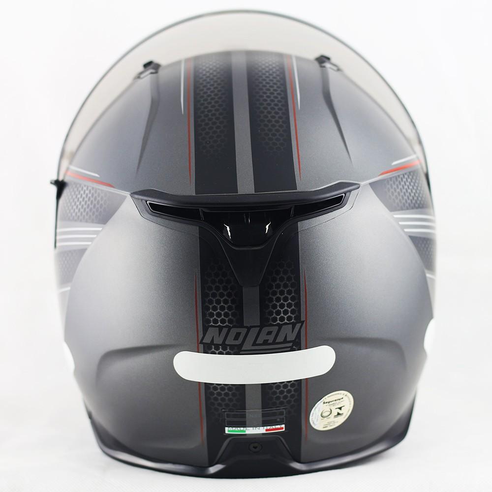 Capacete Nolan N87 Rapid Flat Lava Grey - c/ Viseira Interna  - Nova Centro Boutique Roupas para Motociclistas