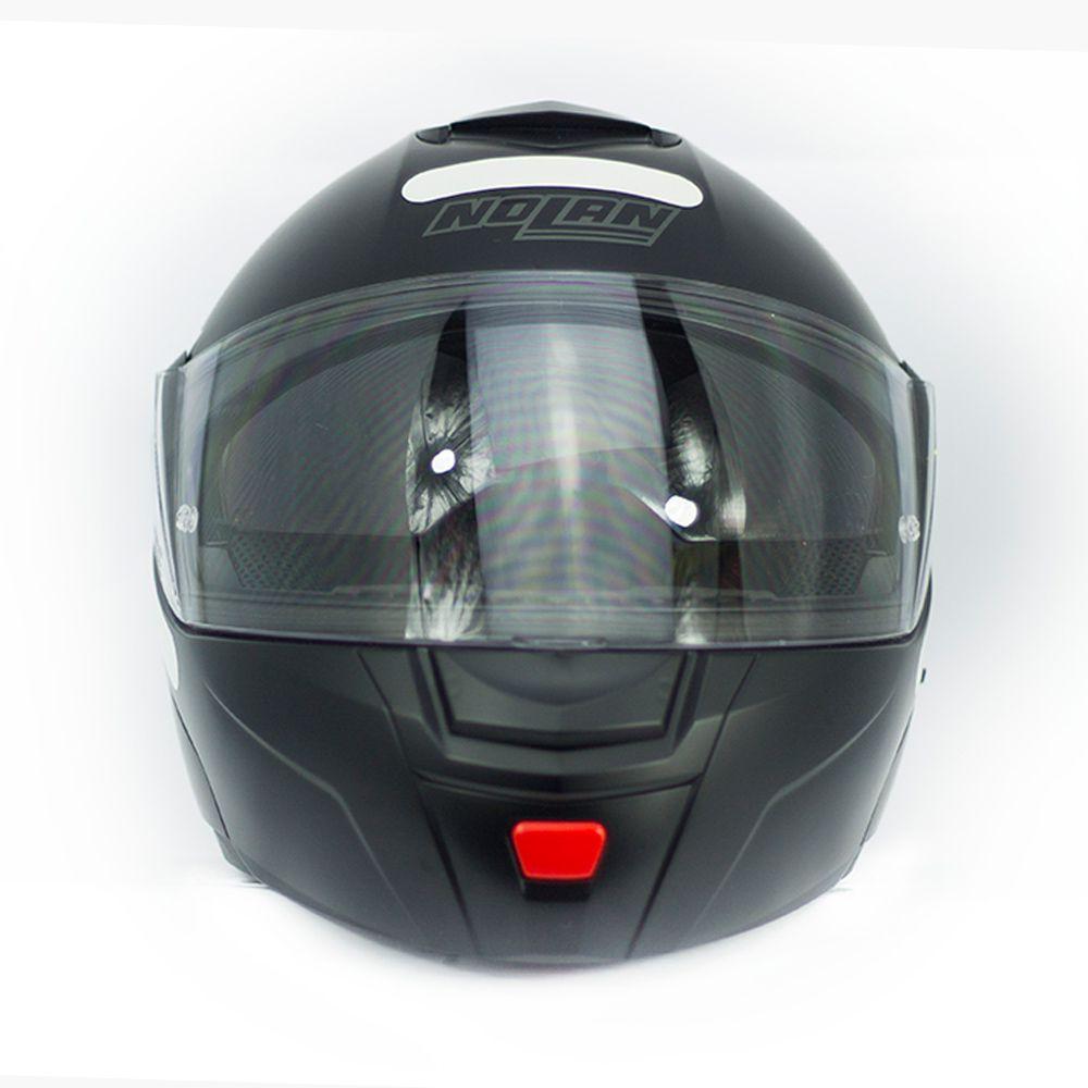 Capacete Nolan N90-2 Straton - Preto - Escamoteável  C/ Viseira Solar Interna  - Nova Centro Boutique Roupas para Motociclistas