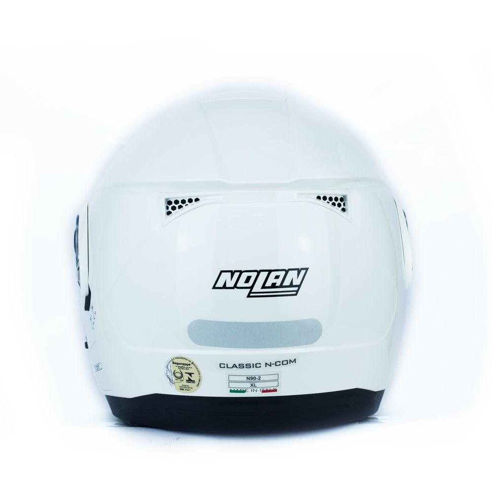 CAPACETE NOLAN N90-2 SPECIAL BRANCO (15)  - Nova Centro Boutique Roupas para Motociclistas