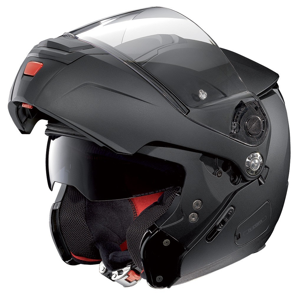 CAPACETE NOLAN N90-2 CLASSIC PRETO FOSCO (10)  - Nova Centro Boutique Roupas para Motociclistas