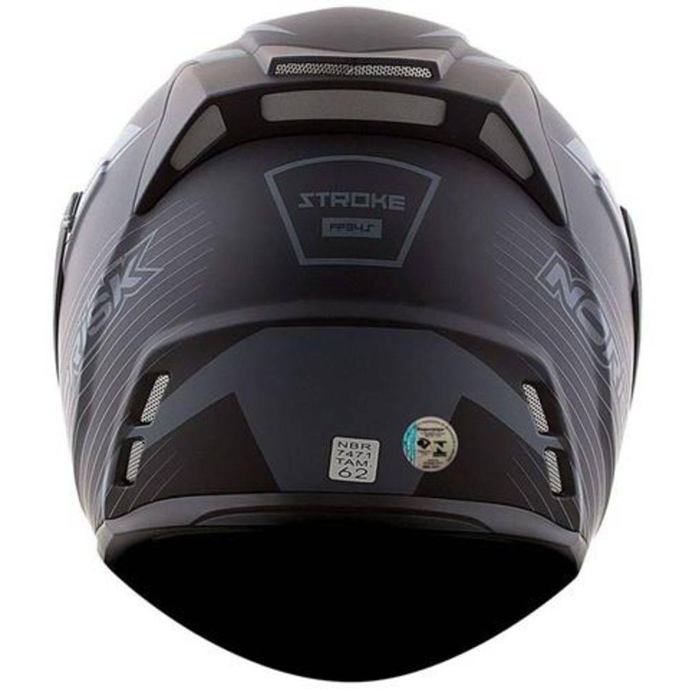 Capacete Norisk FF345 Escamoteável Route Matt Black C/ Viseira Interna  - Nova Centro Boutique Roupas para Motociclistas