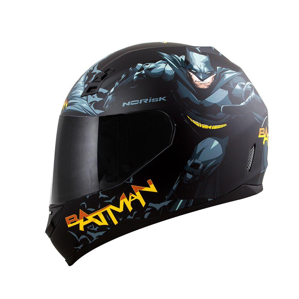 Capacete NoRisk FF391 STUNT - Batman