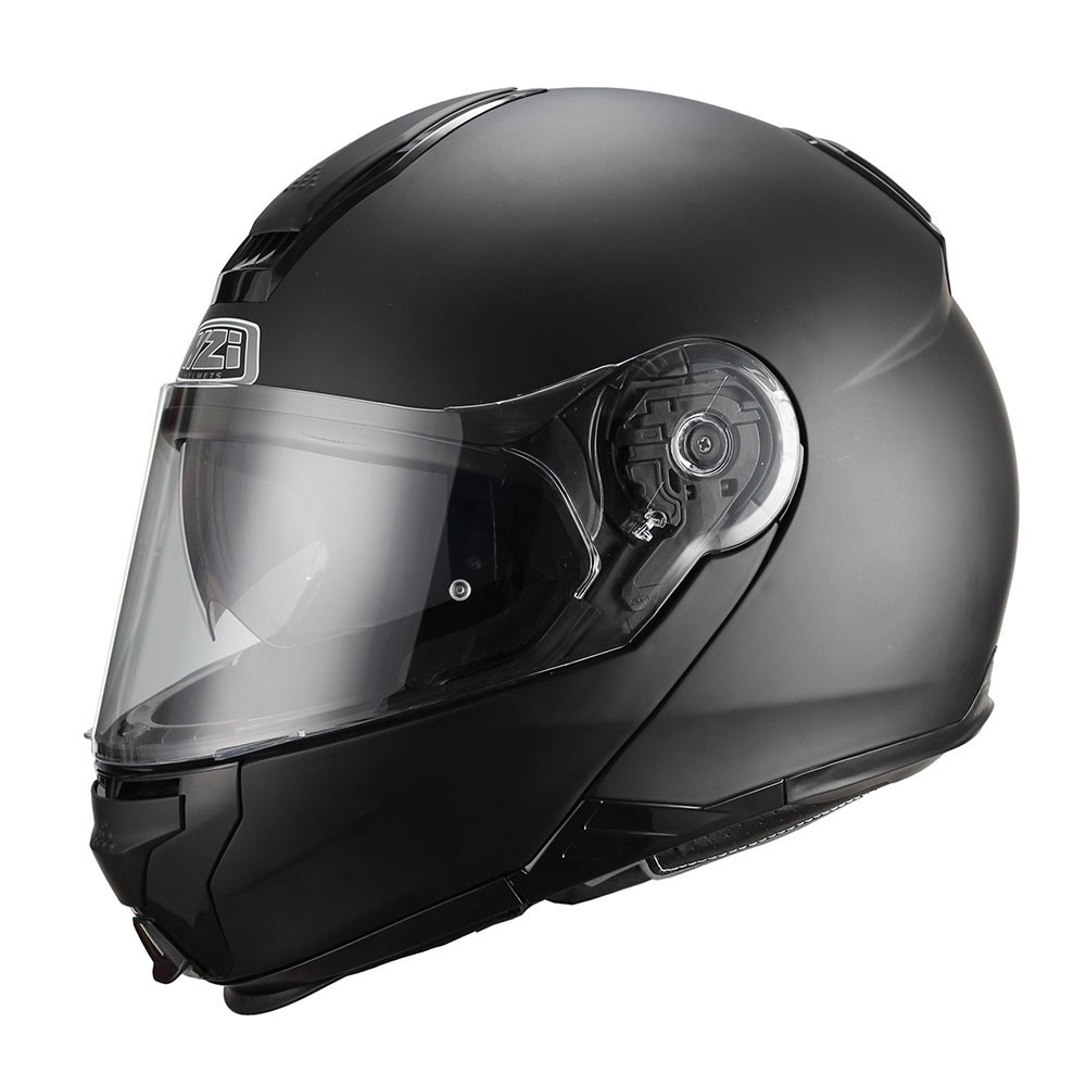 Capacete NZI Combi 2 Duo (C/ VISEIRA SOLAR) Preto - Escamoteável  - Nova Centro Boutique Roupas para Motociclistas