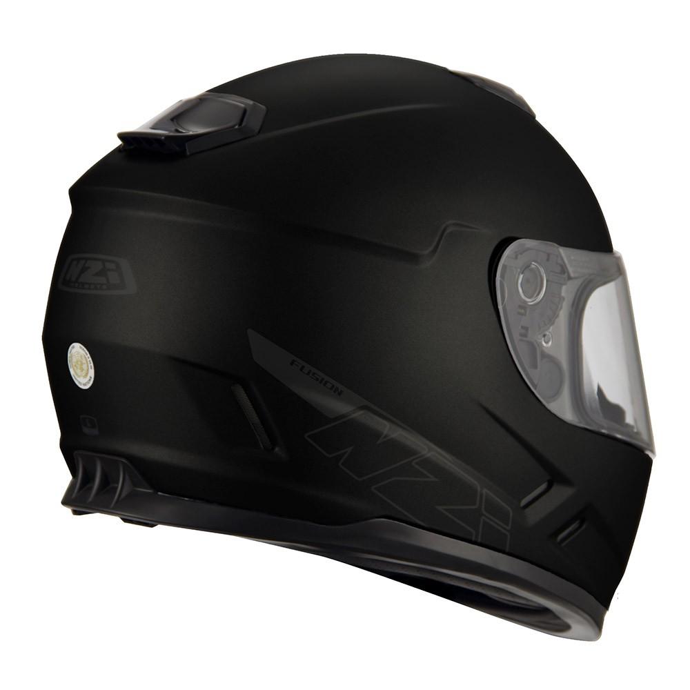 Capacete NZI Fusion - Preto Fosco  - Nova Centro Boutique Roupas para Motociclistas