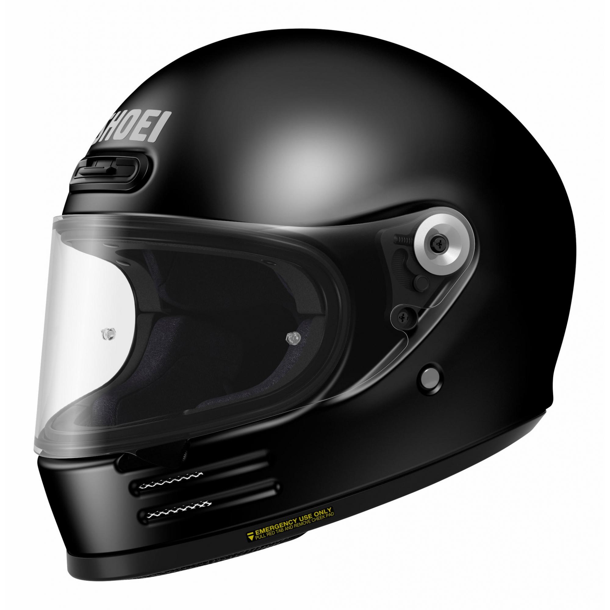 CAPACETE SHOEI GLAMSTER - Preto/Fosco - LANÇAMENTO  - Nova Centro Boutique Roupas para Motociclistas