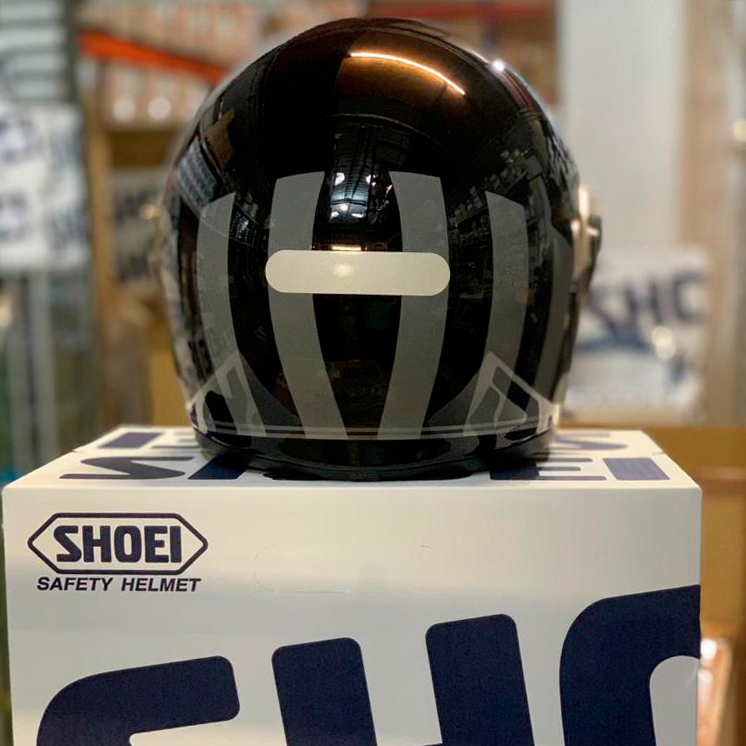 CAPACETE SHOEI GLAMSTER - Resurrection TC-5 - Preto/Cinza - LANÇAMENTO  - Nova Centro Boutique Roupas para Motociclistas