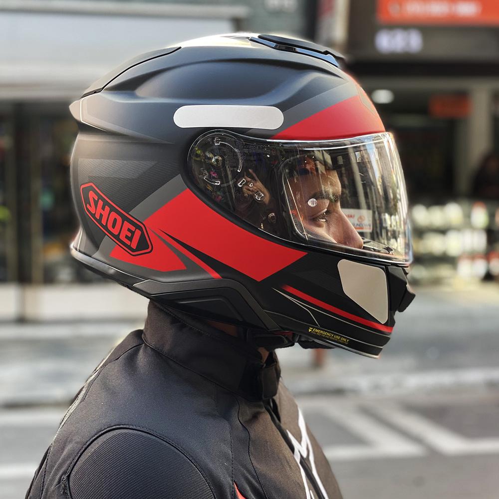 CAPACETE SHOEI GT-AIR II Affair TC-1 - Com Anti-Embaçante (GT-Air 2)  - Nova Centro Boutique Roupas para Motociclistas