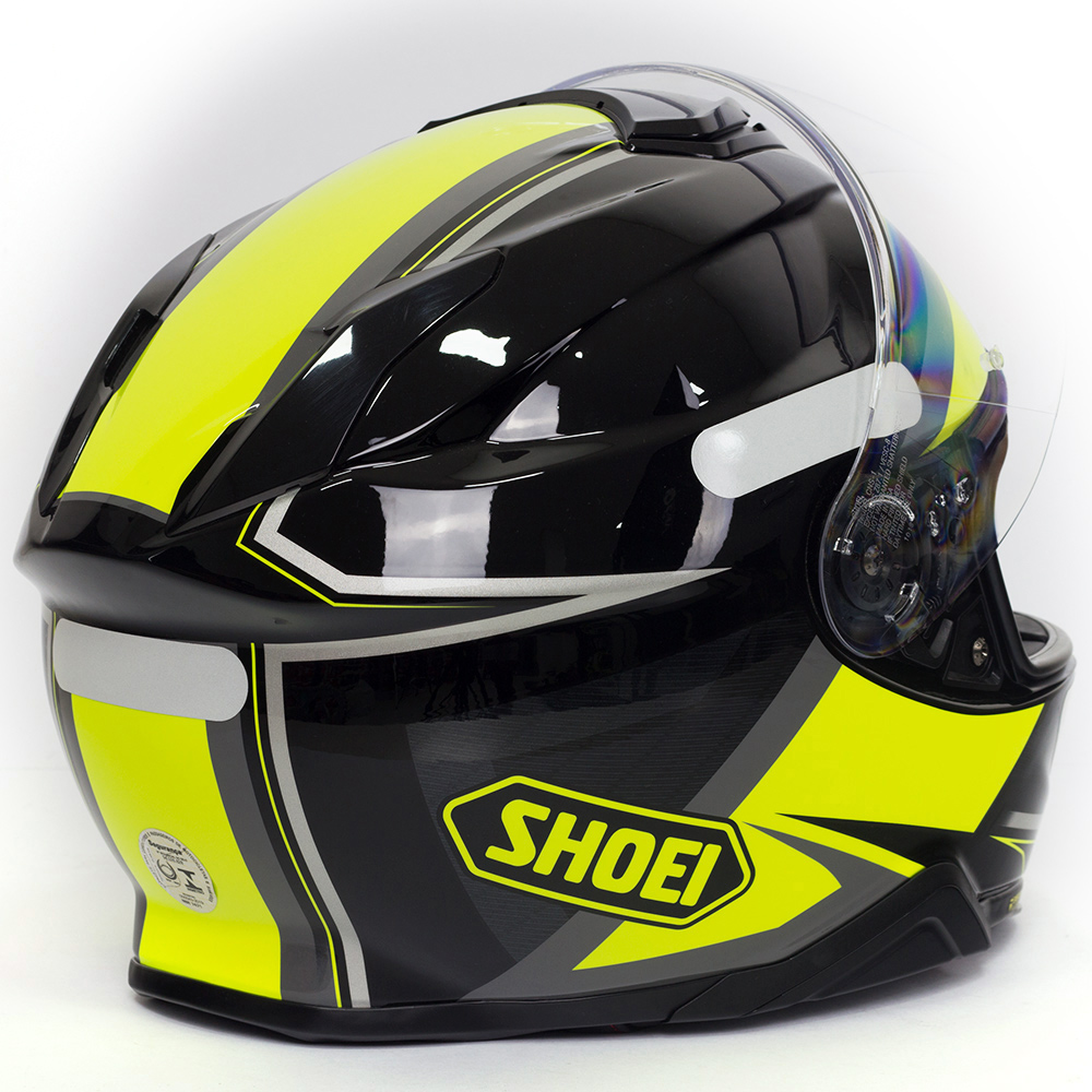 CAPACETE SHOEI GT-AIR II Affair TC-3 - Com Anti-Embaçante  - Nova Centro Boutique Roupas para Motociclistas