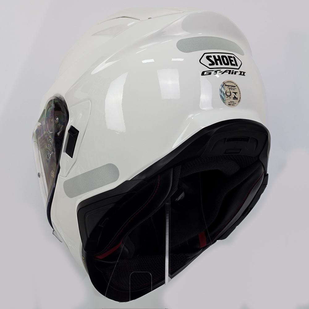 CAPACETE SHOEI GT-AIR II - Branco - Com Anti-Embaçante (GT-Air 2)  - Nova Centro Boutique Roupas para Motociclistas