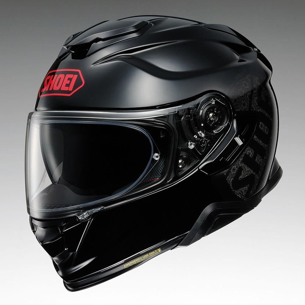 CAPACETE SHOEI GT-AIR II EMBLEM TC-1 - Com Anti-Embaçante   - Nova Centro Boutique Roupas para Motociclistas