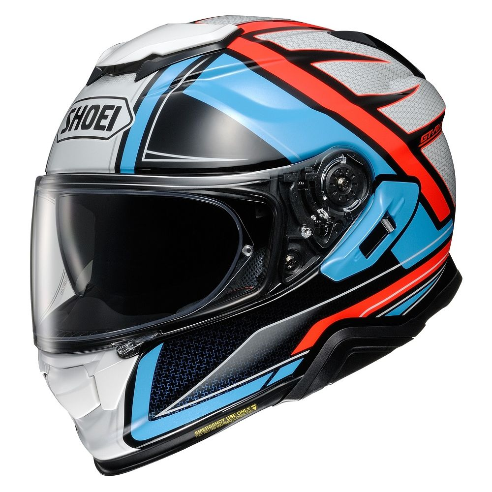 CAPACETE SHOEI GT-AIR II - HASTE TC-2 - Com Anti-Embaçante