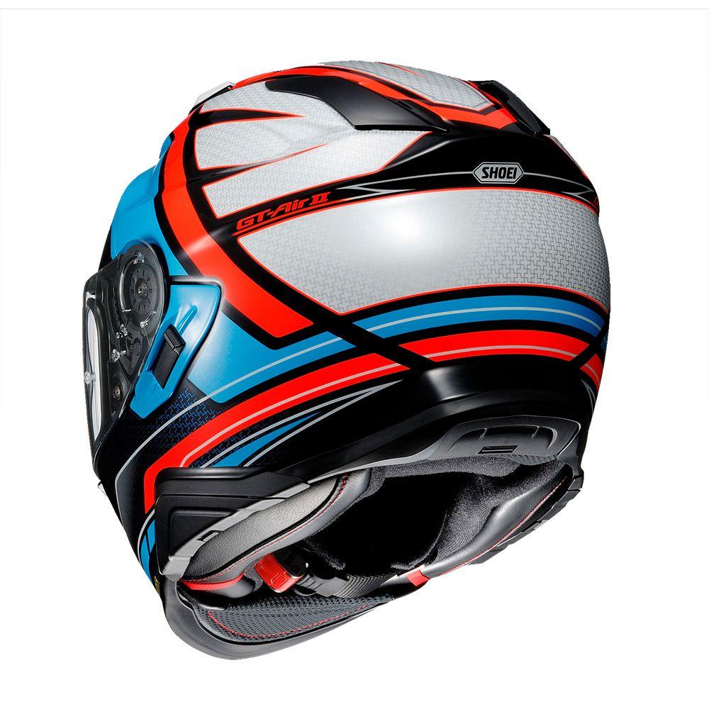 CAPACETE SHOEI GT-AIR II - HASTE TC-2 - Com Anti-Embaçante  - Nova Centro Boutique Roupas para Motociclistas