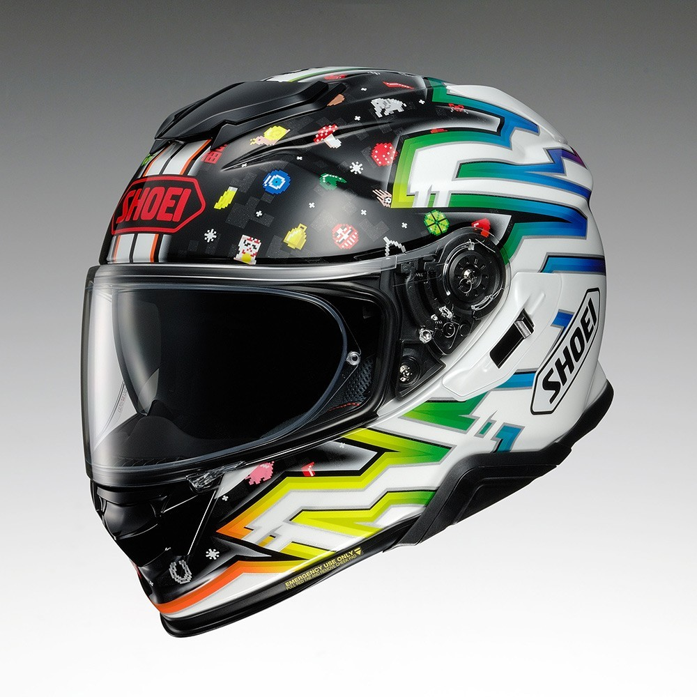 CAPACETE SHOEI GT-AIR II LUCK CHARMS TC-10 - Com Anti-Embaçante