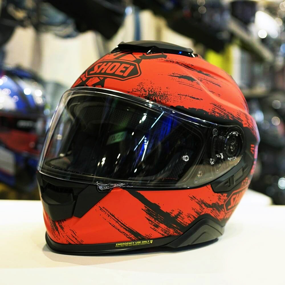 CAPACETE SHOEI GT-AIR II OGRE TC-1 - Com Anti-Embaçante  - Nova Centro Boutique Roupas para Motociclistas