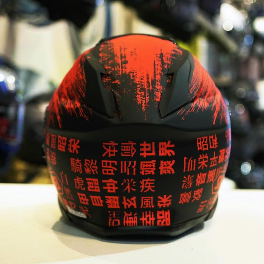 CAPACETE SHOEI GT-AIR II OGRE TC-1 - Com Anti-Embaçante (GT-Air 2)  - Nova Centro Boutique Roupas para Motociclistas