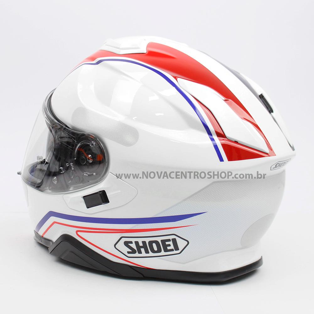 CAPACETE SHOEI GT-AIR II PANORAMA TC-10 - Com Anti-Embaçante (GT-Air 2)  - Nova Centro Boutique Roupas para Motociclistas