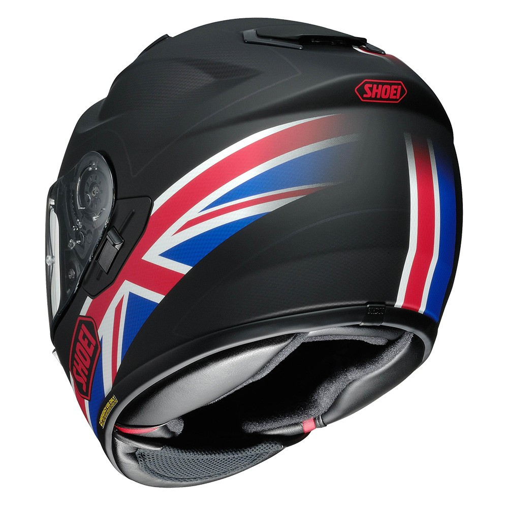 Capacete Shoei GT-Air Royalty TC-1 Preto/Vm/AZ C/ Pinlock!  - Nova Centro Boutique Roupas para Motociclistas
