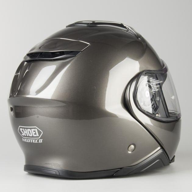 Capacete Shoei Neotec 2 Antracite Brilhante - Escamoteável/Articulado  - Nova Centro Boutique Roupas para Motociclistas