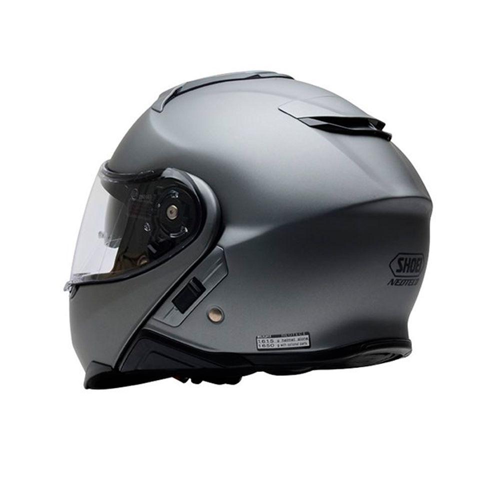 Capacete Shoei Neotec 2 Cinza Fosco - Escamoteável/Articulado  - Nova Centro Boutique Roupas para Motociclistas