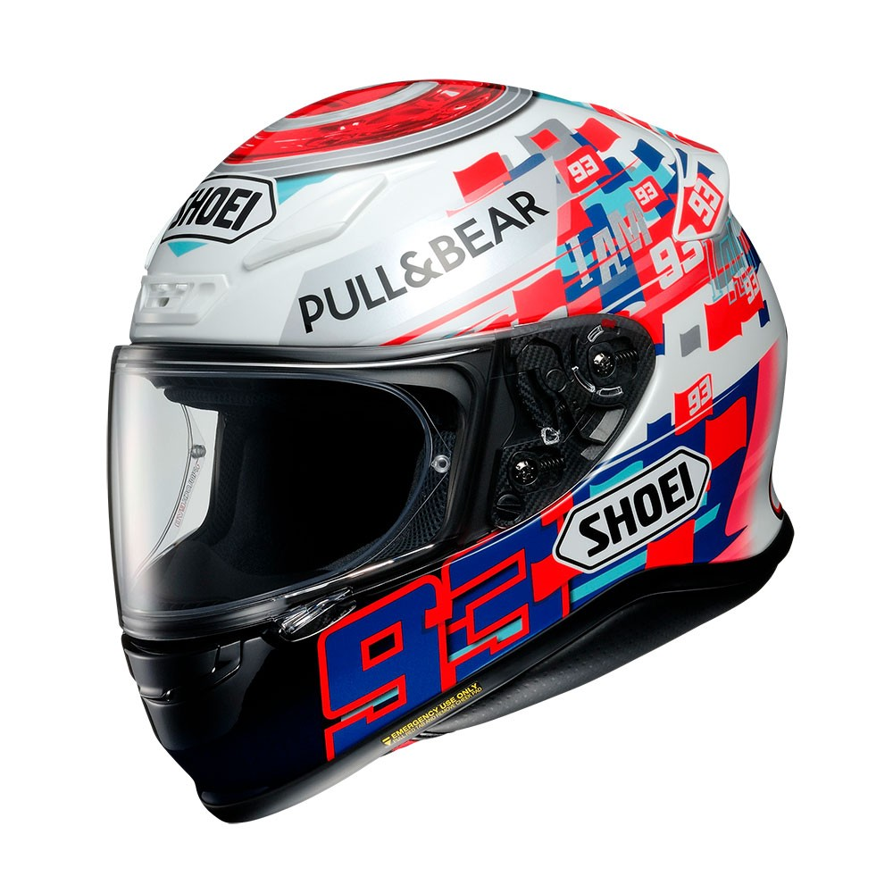 Capacete Shoei NXR Power Up Marc Marquez TC-1