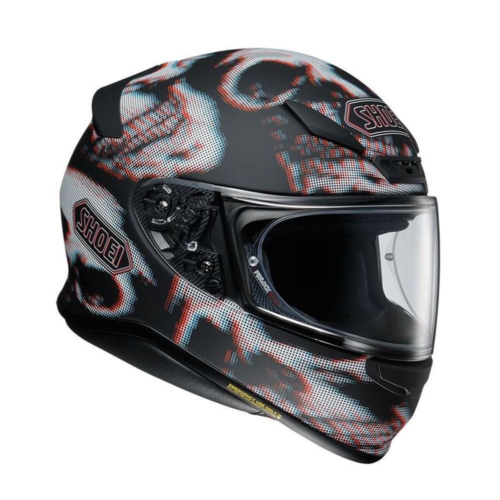 Capacete Shoei NXR Tale  TC-5  - Nova Centro Boutique Roupas para Motociclistas