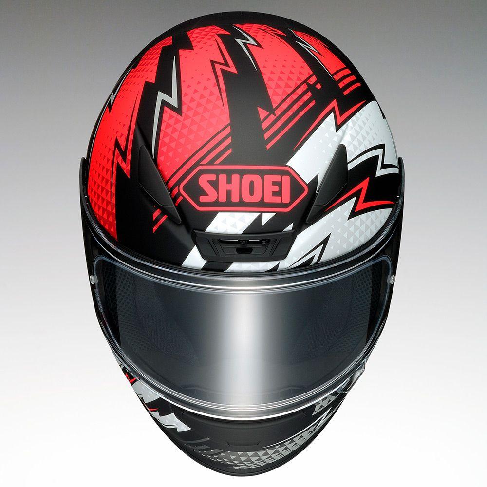 Capacete Shoei NXR Variable TC-1 Preto/Branco/Vermelho - NOVO!  - Nova Centro Boutique Roupas para Motociclistas