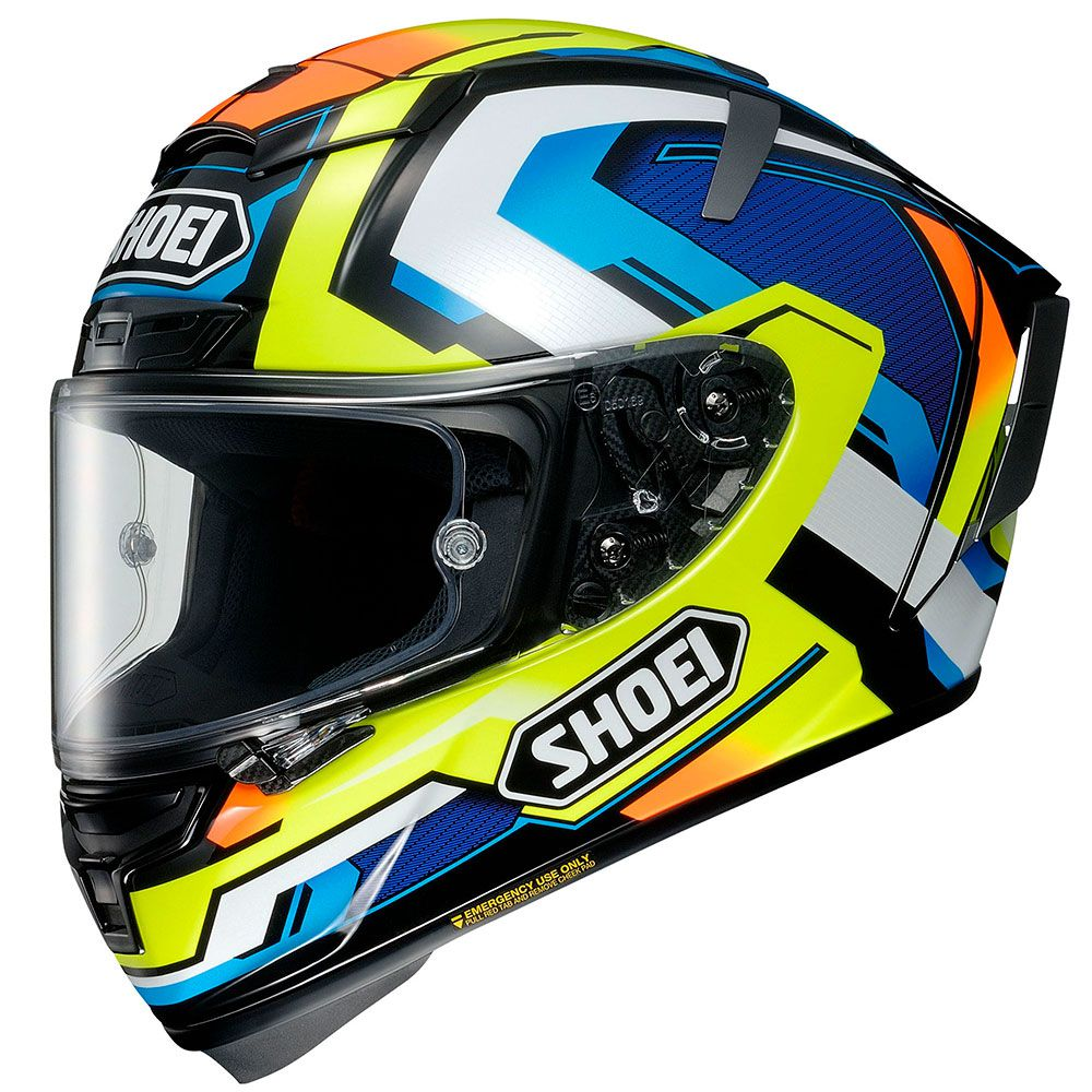 CAPACETE SHOEI X-SPIRIT 3 (X-FOURTEEN) - Brink TC-10