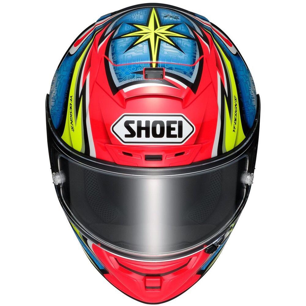 CAPACETE SHOEI X-SPIRIT 3 (X-FOURTEEN) - DAIJIRO KATO  - Nova Centro Boutique Roupas para Motociclistas