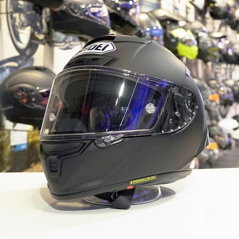 CAPACETE SHOEI X-SPIRIT 3 (X-FOURTEEN) - Preto Fosco  - Nova Centro Boutique Roupas para Motociclistas