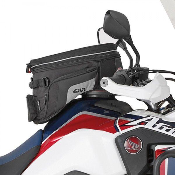 Flange Givi P/ fixação de bolsas tanklock GIVI BF25 + BOLSA XS320 GIVI PARA HONDA CRF1000L AFRICA TWIN  - Nova Centro Boutique Roupas para Motociclistas