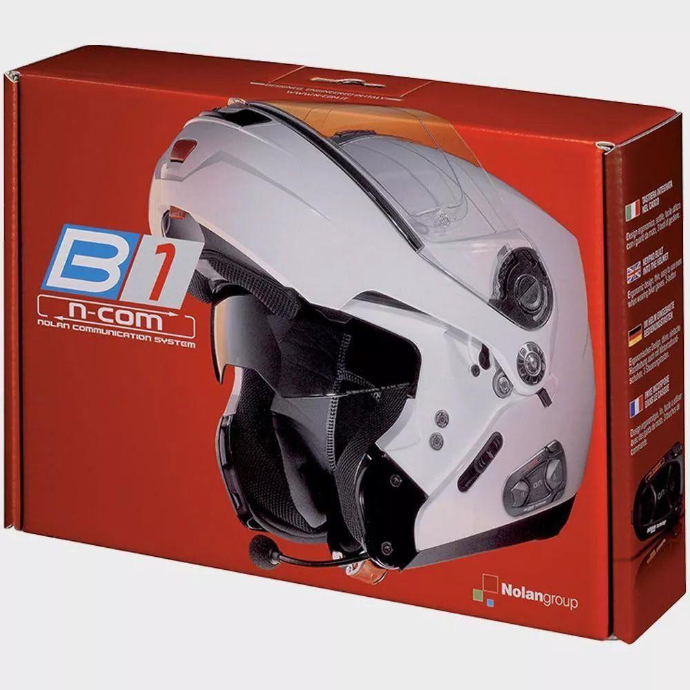 Intercomunicador Nolan B-1 N-com  - Nova Centro Boutique Roupas para Motociclistas