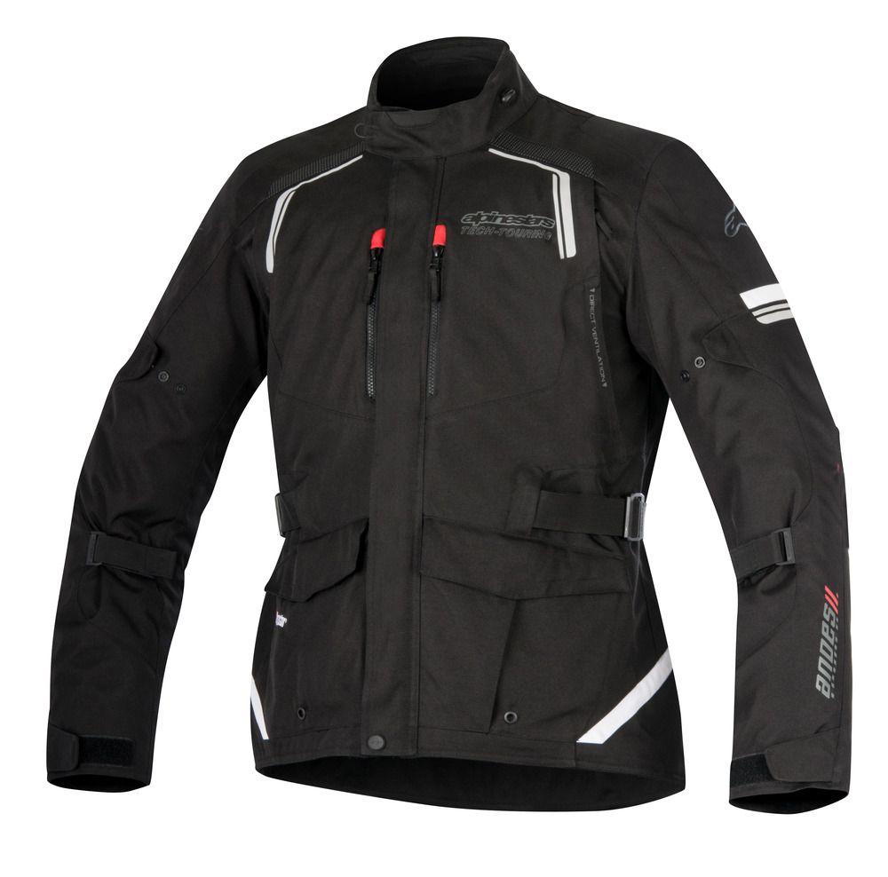 Jaqueta Alpinestars Andes V2 Drystar - Preto  - Nova Centro Boutique Roupas para Motociclistas