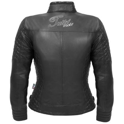Jaqueta Tutto Couro Nicole Feminina  - Nova Centro Boutique Roupas para Motociclistas