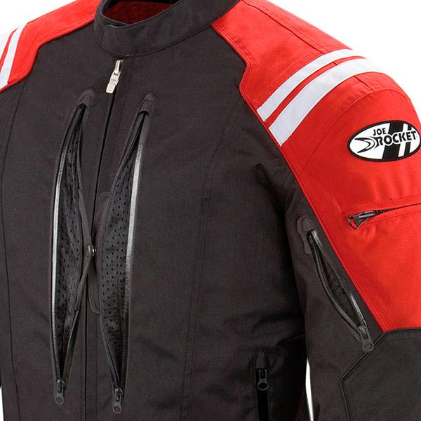 Jaqueta Joe Rocket Atomic 4.0 Vermelha - Só L e 2XL  - Nova Centro Boutique Roupas para Motociclistas