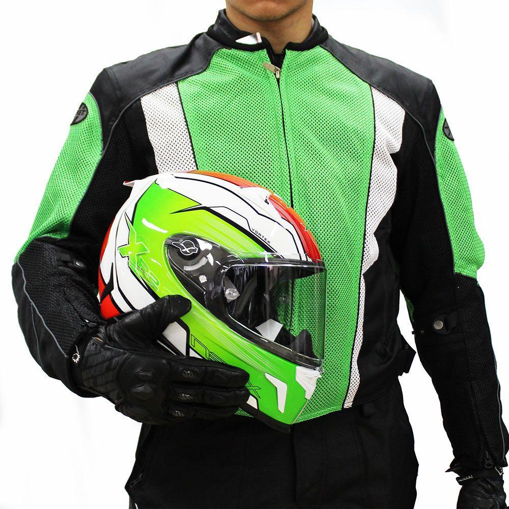 Jaqueta Joe Rocket Phoenix 5.0 Ventilada e Impermeável - Verde  - Nova Centro Boutique Roupas para Motociclistas