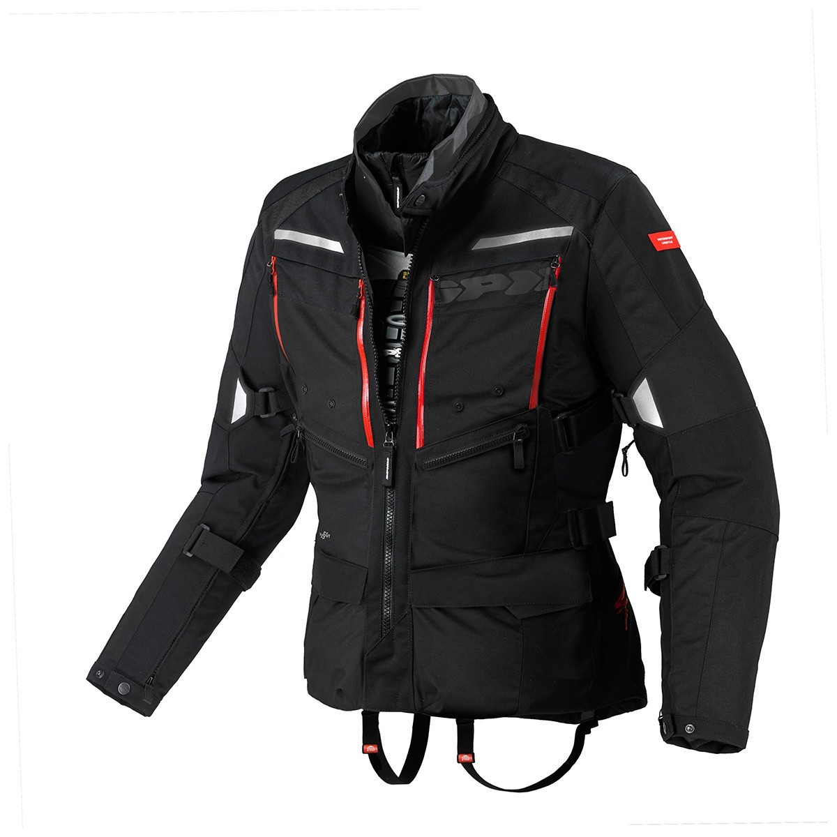 Jaqueta Spidi 4 Season Black H2Out  Respirável - Big Trail - SUPEROFERTA!