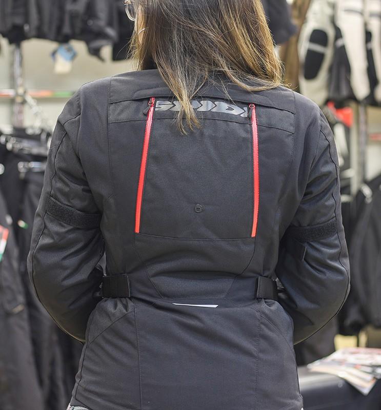 Jaqueta Spidi 4 Season Lady/Feminina Black H2Out e Respirável - Big Trail Parka  - Nova Centro Boutique Roupas para Motociclistas